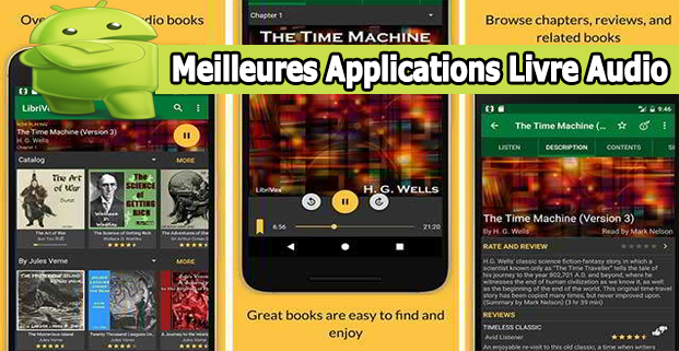 Applications Livre Audio
