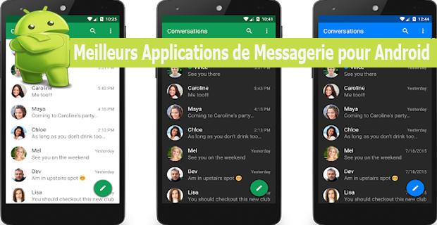 Meilleurs Applications de Messagerie pour Android