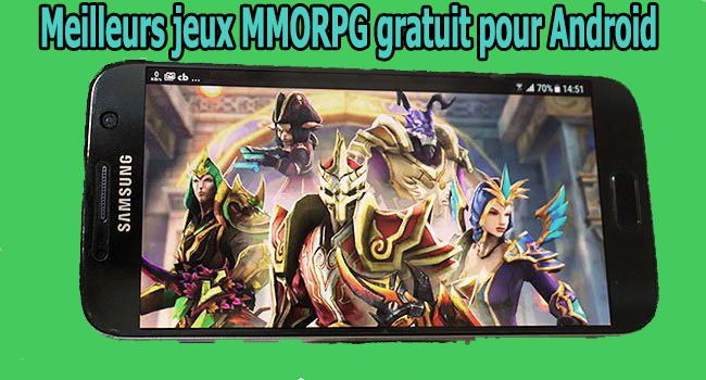 Meilleurs jeux MMORPG gratuit pour Android