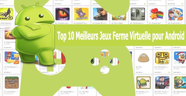 Top 10 Meilleurs Jeux Ferme Virtuelle pour Android