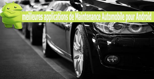 meilleures applications de Maintenance Automobile pour Android