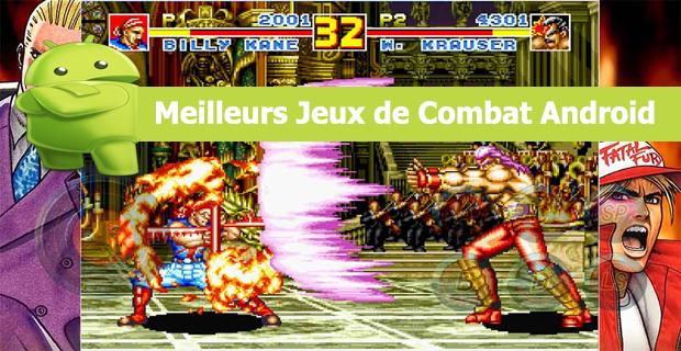 Meilleurs Jeux de Combat Android