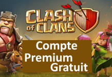 Compte premium Clash of Clan