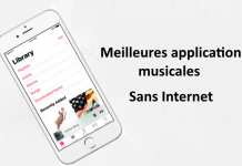 applications musicales hors ligne