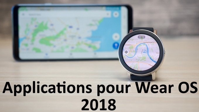 applications pour Wear OS