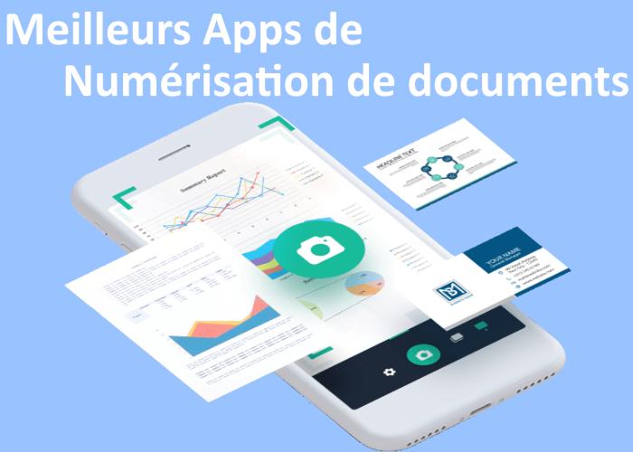 applications de numérisation de documents