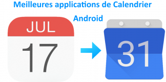 applications de calendrier