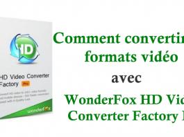 Comment convertir des formats vidéo