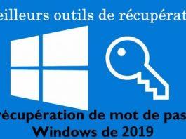 outils de récupération de mot de passe Windows