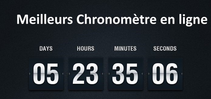 chronomètre en ligne gratuits