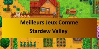 jeux comme Stardew Valley