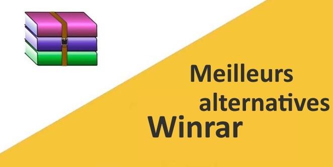 meilleures alternatives Winrar