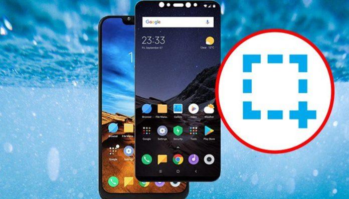 Prendre une Capture D'écran sur Xiaomi Pocophone F1