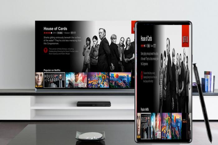 Connecter Samsung Galaxy Note 9 à la Télévision
